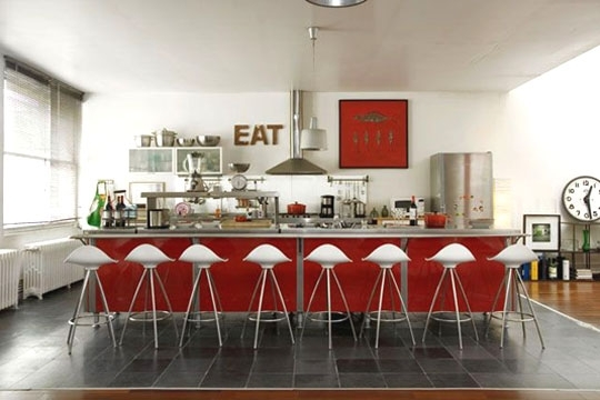 French style home decor for Cuisine moderne france