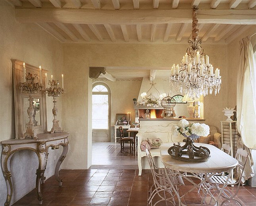 French country decor - Chic french country inspired home real comfort and elegance ...