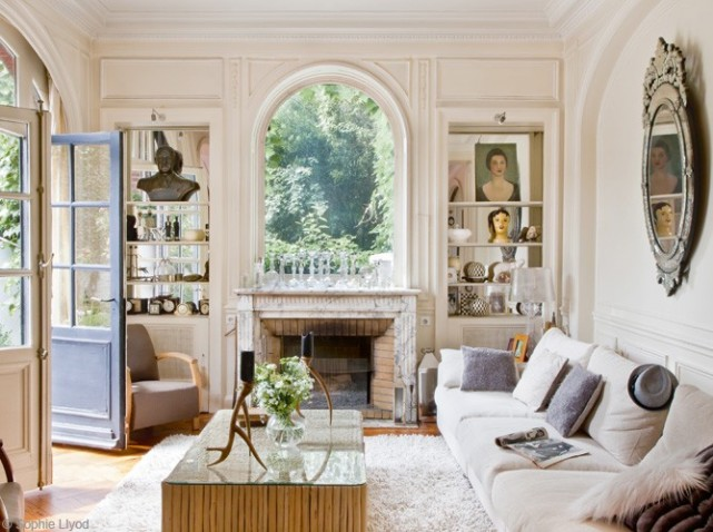 Living room ideas for Decoration maison francaise